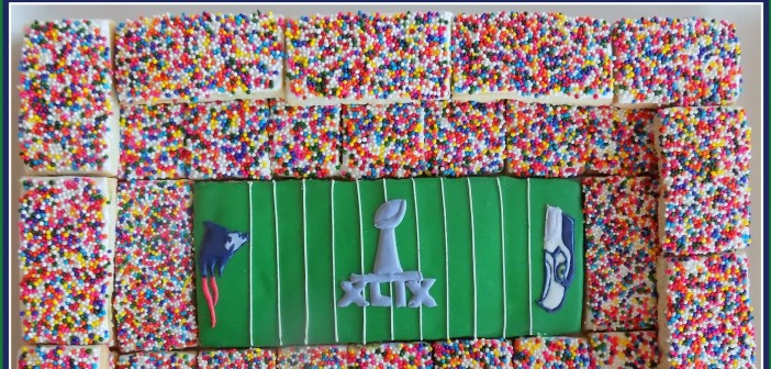 How to Make a Cookie Football Stadium