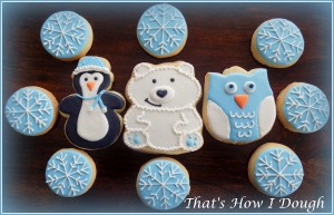 Winter Animal Cookies- That's How I Dough