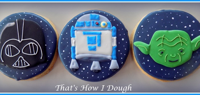 Star Wars Cookies (for a baby shower!)