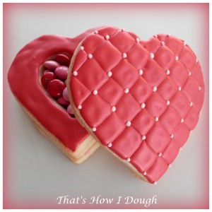 Valentine's Day Cookie Box- That's How I Dough