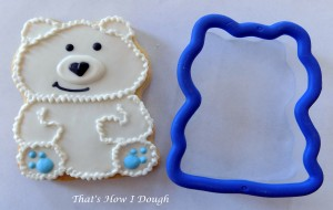 Polar Bear on a Frog Cookie Cutter- That's How I Dough